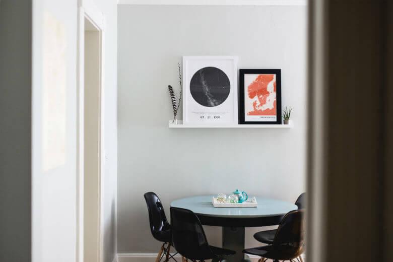 mesa multifuncional para el salón
