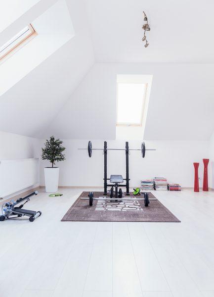 gimnasio en casa