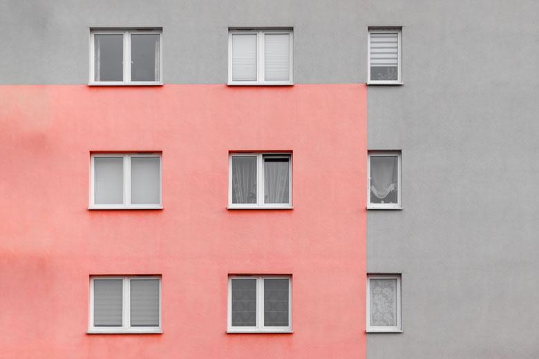 fachada de vivienda