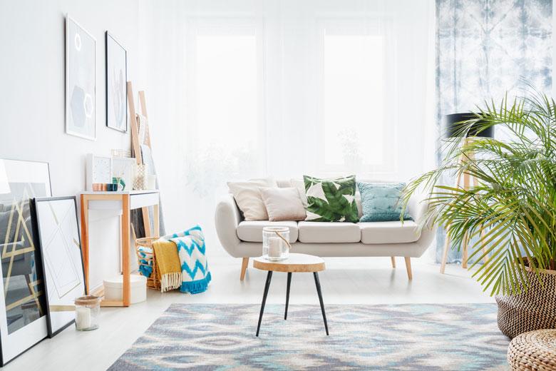 sofá para salón pequeño